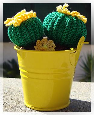 Amigurumi: piante grasse all uncinetto CactusFollia