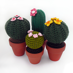 Amigurumi Uncinetto Tutorial : Amigurumi: pattern gratuiti per piante grasse CactusFollia